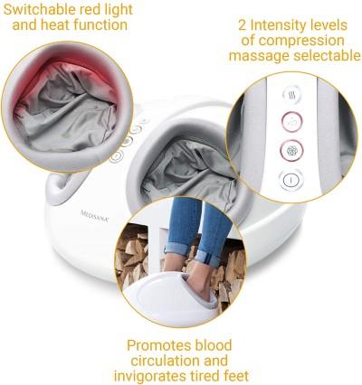 elektrische voetmassage apparaat