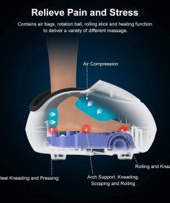 voetmassage apparaat voetverwarming